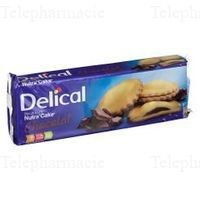 DELICAL NUTRA'CAKE Biscuit chocolat 3/105g