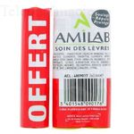AMILAB SOIN LEVRE TRIO Lot de 3 sticks 3.6ml dont un OFFERT