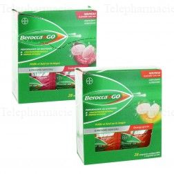 BEROCCA N GO performance au quotidien fruits rouges Boîte de 28 sachets
