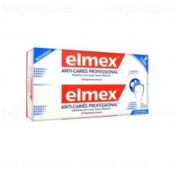 Dentifrice anti-caries professionnal 2x75ml