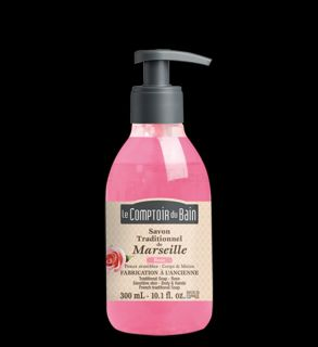 Savon Traditionnel de Marseille Rose 300ml