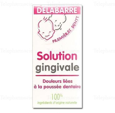 Solution Gingivale Premières Dents 15ml