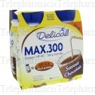 DELICAL MAX.300 CHOCOLA 300MLX
