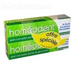HOMEODENT Soin complet dents et gencives tube 75ml x 2 Lot de 2 x 75ml