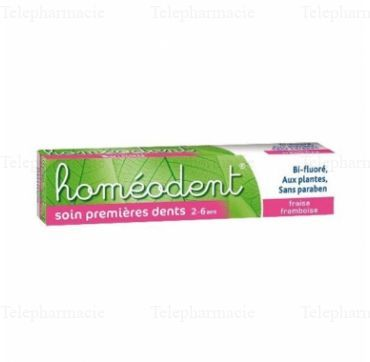 HOMEODENT Soin premières dents tube 50ml