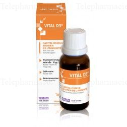 Sante naturelle vital d3 capital osseux 20ml