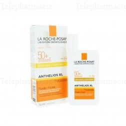 Anthelios xl fluide ultra leger spf50+ avec parfum 50ml