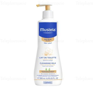 MUST BB LAIT TOILETTE 500ML Flacon pompe 500ml