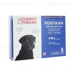 Perfikan Antiparasitaire Grands Chiens 4 pipettes