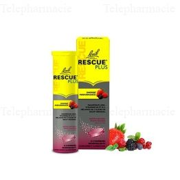 Rescue Plus Energie & Performance Goût Fruits Rouges 15 comprimés effervescents
